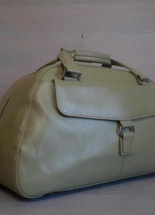 Очень большая, кожаная сумка marks&spencer