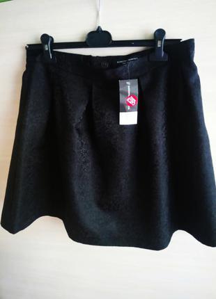 Новая фактурная юбка dorothy perkins! размер 14.