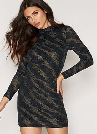 Красивое нарядное блестящее платье topshop на новый год