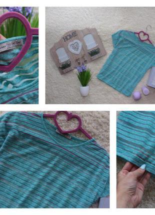 Невероятная блузка в прозрачную полоску