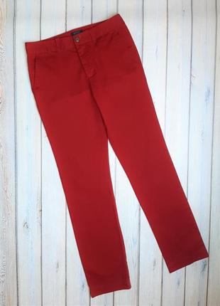 💥1+1=3 шикарные красные женские брюки ralph lauren оригинал, размер 44 - 46