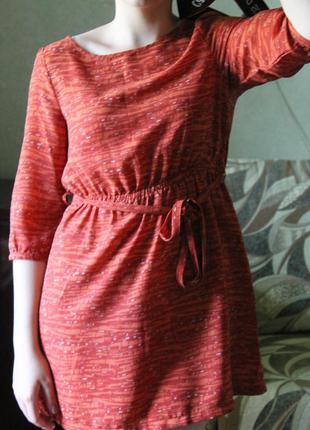 Летнее легенькое платье