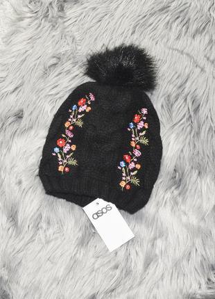 Новая шапка с флисом tu by asos