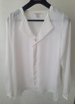 Белая блуза esprit, р. м-л