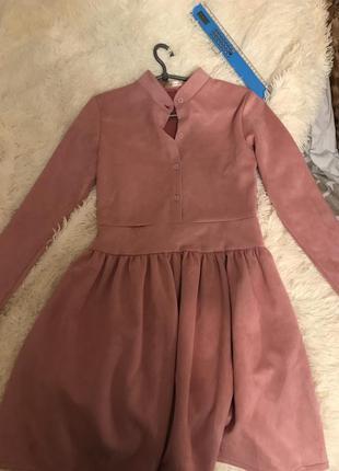 Платье зефирное