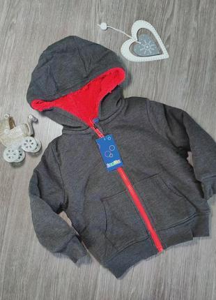 Качественная толстовка для мальчика lupilu 86-92 см, 1-2 года