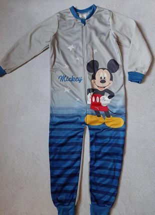 Пижама, слип,ромпер disney mickey mouse