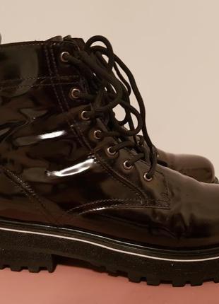 Ботинки кожаные зима