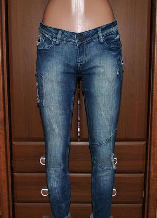 Рваные джинсы женские urban surface м с
