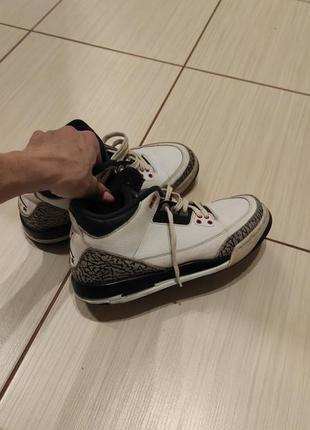 Jordan кроссовки зимние, оригинал , кожа стелька 24 см