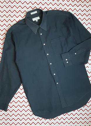 😉1+1=3 мужская серая рубашка сорочка christian dior, размер 50 - 5