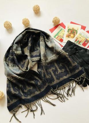 Щимовий мякий  шарф під кашемір