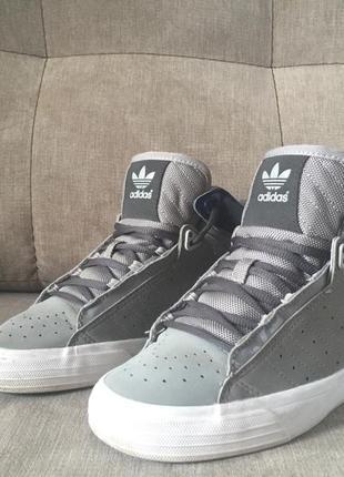 Высокие кроссовки adidas оригинал
