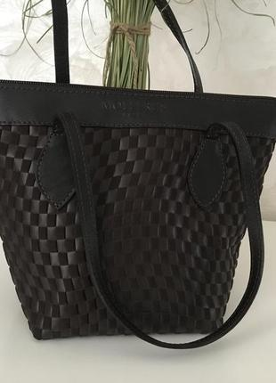 Брендовая  кожаная  сумочка бренд maison mollerus vinerus