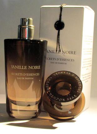 Парфюмерная вода vanille noire (черная ваниль)