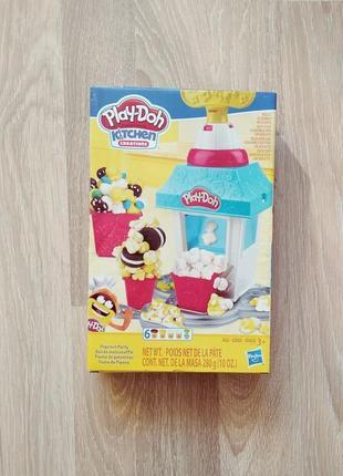 Игровой набор play-doh попкорн hasbro