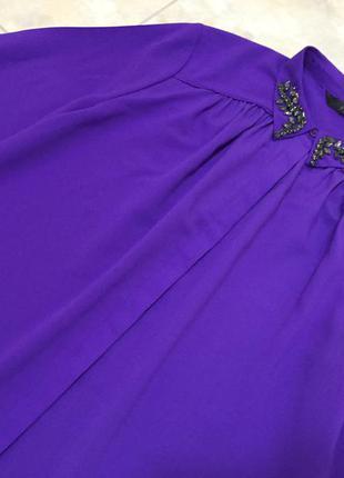 Блуза coast насыщенного фиолетового цвета