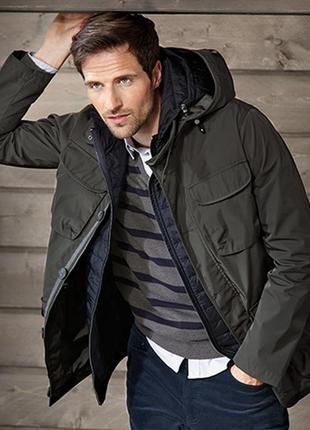 Шикарная мужская функциональная куртка 2 в 1 от tcm tchibo (чибо), германия, размер l-xl