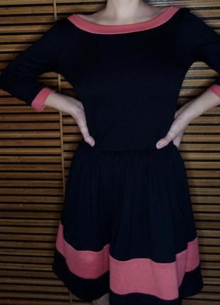 Платье с молнией
