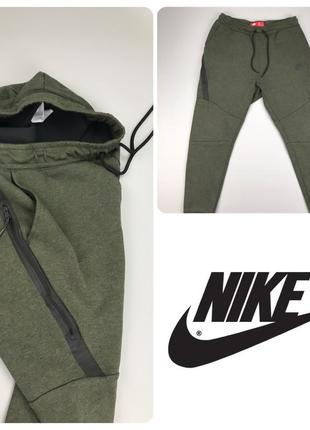 Nike tech fleece штаны спортивные