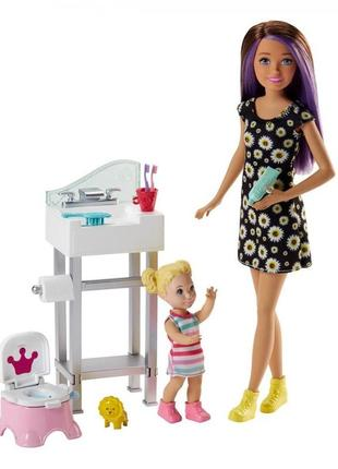 Игровой набор barbie skipper babysitters няня