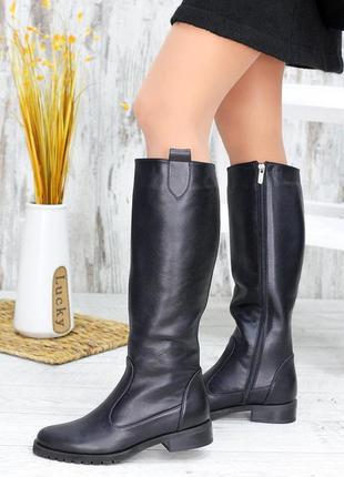 Женские кожаные сапоги venice