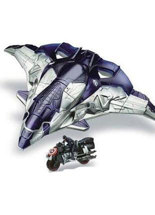 Крупный игровой набор hasbro avengers самолет мстителей marvel