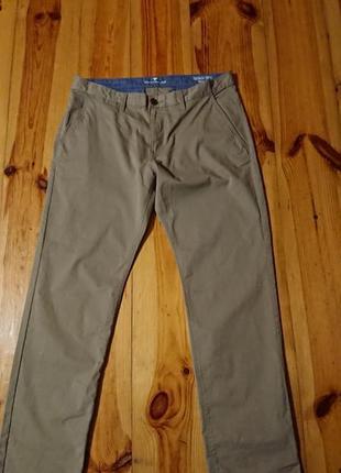 Брендові фірмові брюки чиноси tom tailor,оригінал,нові,розмір 36/32.