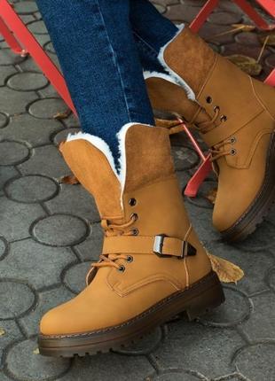 Зимові черевики, зимние ботинки