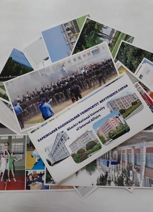 Хакрківський університет внутрішніх справ  набор листівок открытки 24 штуки хнувс