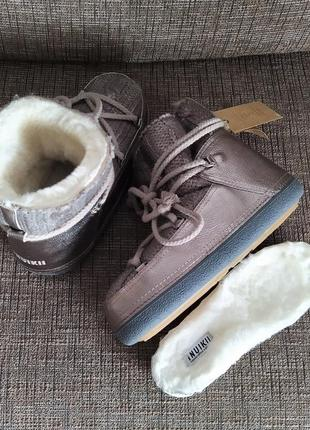 Новые луноходы inuikii оригинал ботинки на меху сапоги мун бут зима мех нюанс ikki инуикки