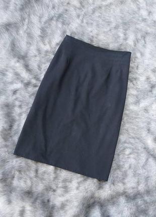Юбка из костюмной ткани