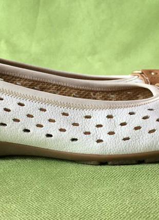 Туфли, мокасины кожаные gabor р.38, ст.25см.