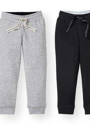 Набор 2 шт. спортивные штаны для мальчика на флисе