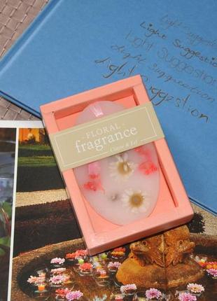 Ароматная подвеска с живыми цветами в подарочной упаковке 10х7х3см clayre & eef