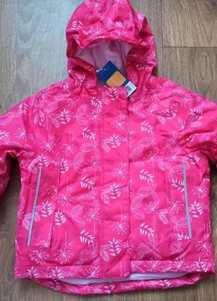 Термо куртка ддя девочки lupilu