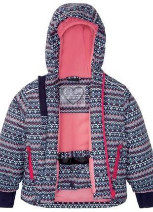 Термокуртка для девочки crivit sports