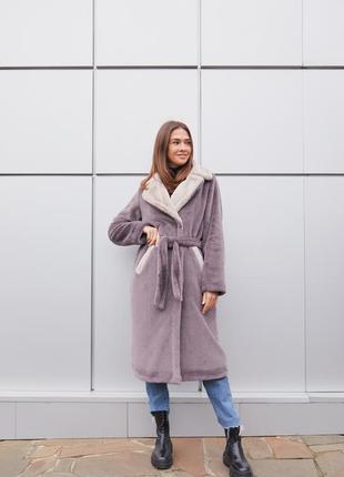 Идеальное зимнее пальто-шуба