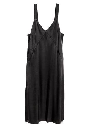 Чёрное платье h&m