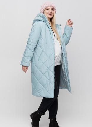 Теплое пальто для беременных