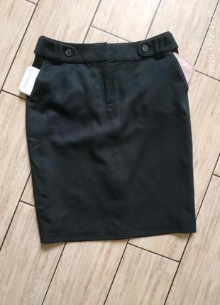 Юбка юбочка с боковыми карманами