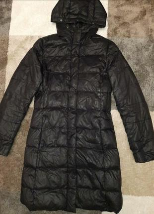 Брендовое зимнее стеганое пальто пуховик от  joseph