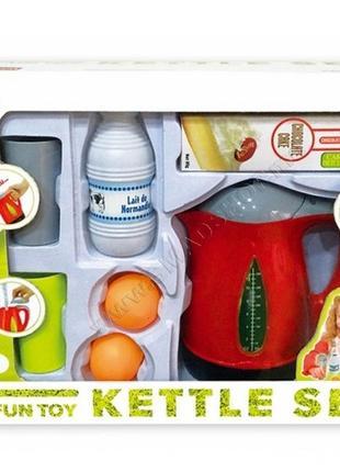 """Игровой набор """"электрочайник"""" со звуковыми и световыми эффектами kettle set"""