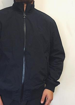 Мужская куртка barbour ( барбур хлрр идеал оригинал черная)