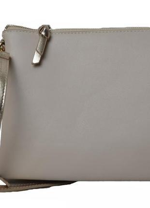 Женская маленькая бежевая сумочка fiorelli. код п37929