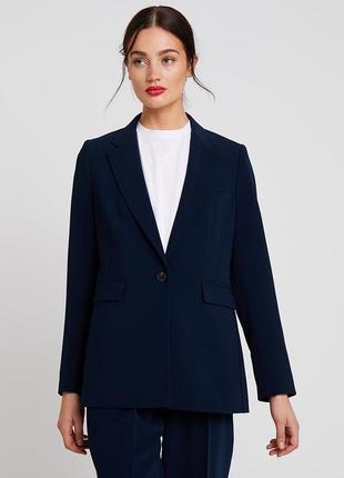 Блейзер  удлинённый пиджак tommy hilfiger