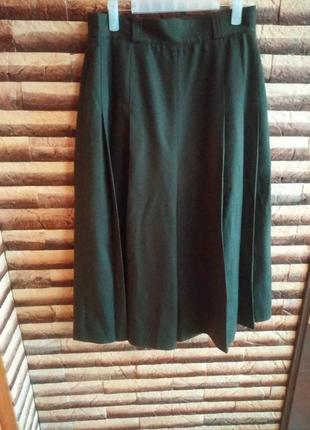 Шерстяні штани-кюлоти widudress