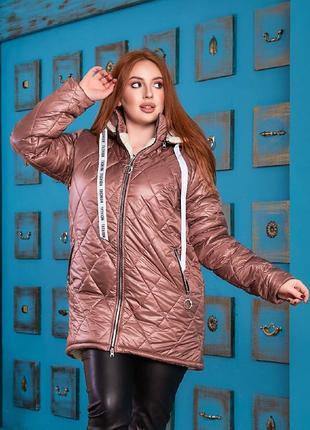 Куртка на овчине женская