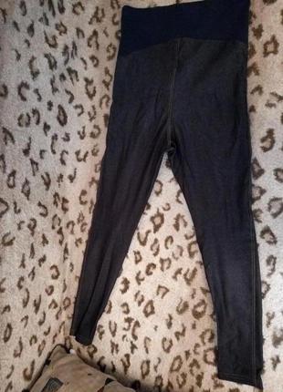 Лосины джинсового цвета для беременных марки miss e-vie(peacocks)