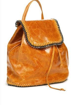 Стильный рюкзак кожа